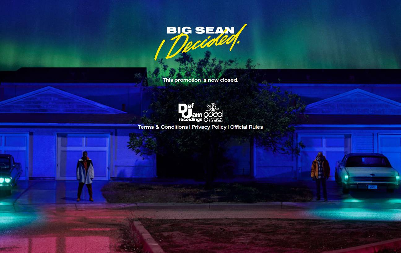 Big Sean Pre-Save for Spotify, Big Sean Presave For Spotify, Big Sean Spotify Pre-Save