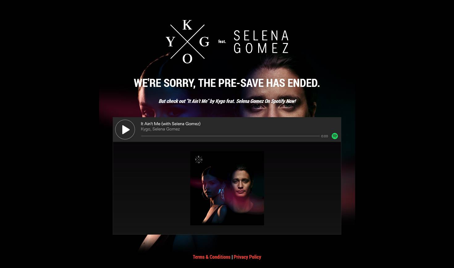 Selena Gomez Pre-Save for Spotify, Selena Gomez Presave For Spotify, Selena Gomez Spotify Pre-Save