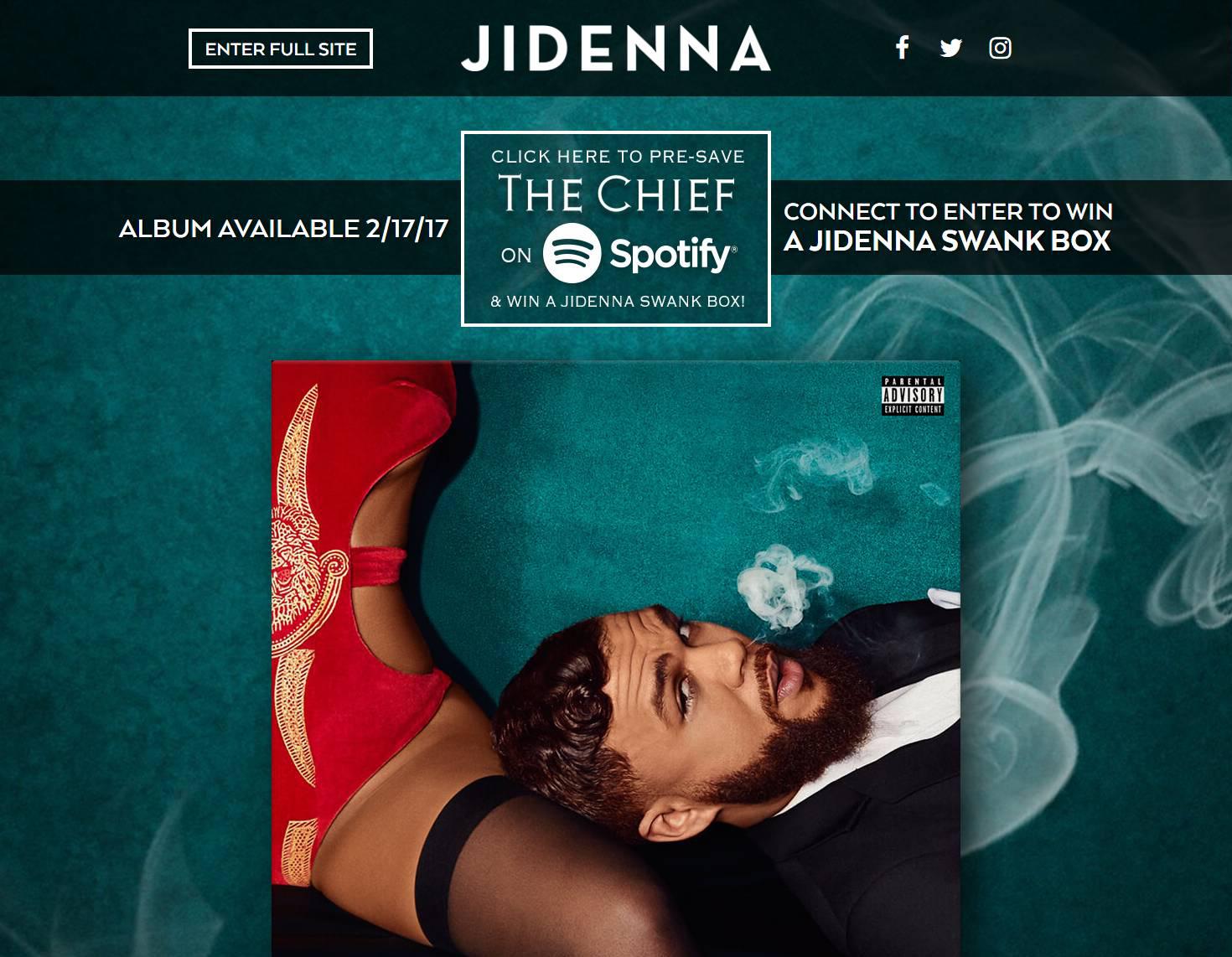 Jidenna Pre-Save for Spotify, Jidenna Presave For Spotify, Jidenna Spotify Pre-Save